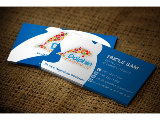 Logos content creation business cards dolphin produce reheart Choice Image